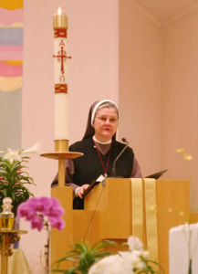 Sister Dr. Lorelei Fuchs. . Photo by David P. Skidmore, Canon for Communications of the Episcopal Diocese of Chicago.
