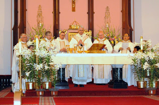 Roman Catholic Mass at St. Joseph Old Cathedral